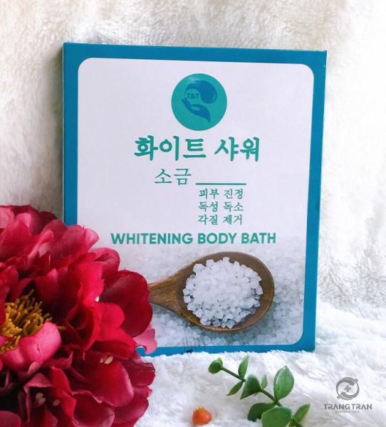Set tắm trắng body 1 lần Hàn Quốc