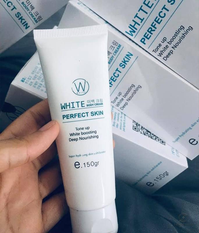 Kem dưỡng thể làm trắng và chống nắng Body White Perfect Skin