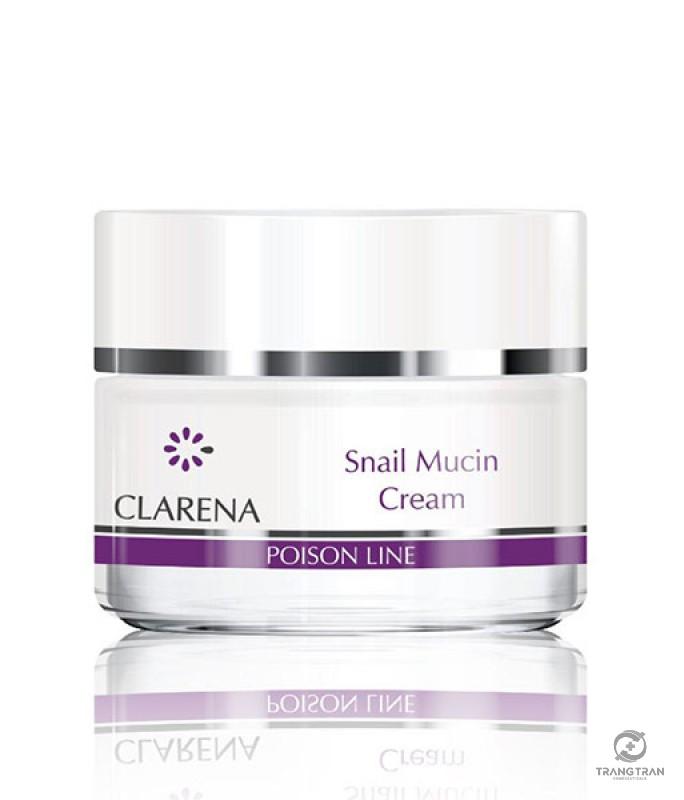 Kem siêu dưỡng ẩm, tái tạo lành tổn thương sau xâm lấn như peel, laser, phi kim, vi kim Snail Mucin Cream