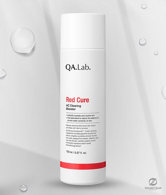 Booster làm dịu và dưỡng trắng cho da có vấn đề Red Cure Q.A.Lab