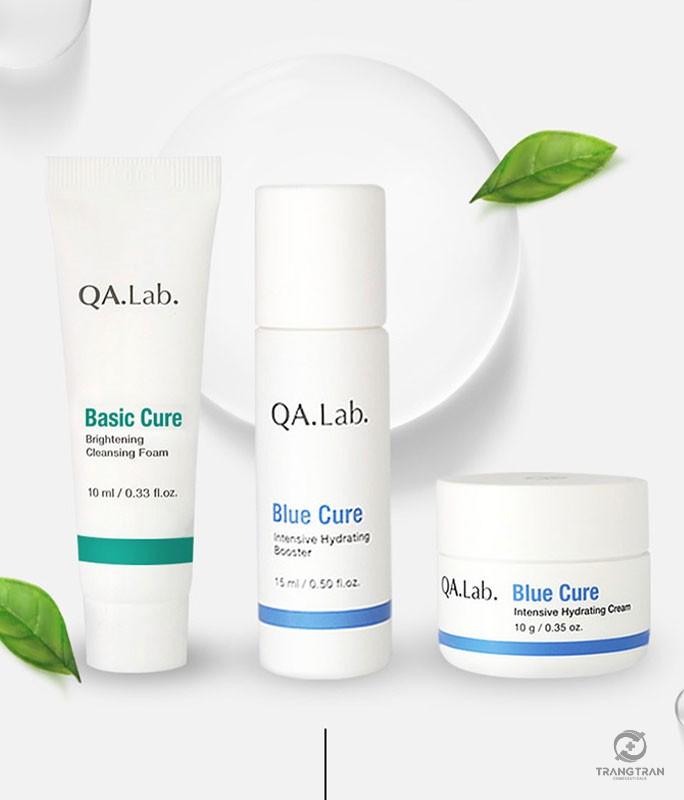 Bộ kit dưỡng ẩm chuyên sâu Blue Cure QA.Lab